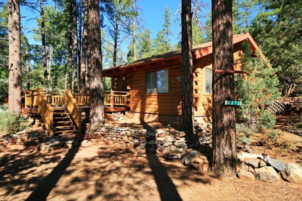 Pine Cabin Rentals Strawberry Happy Jack Az Free